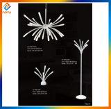 Lámpara de suelo labradora de lujo con dimensión de una variable creativa
