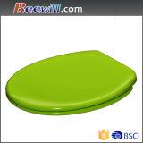 Diseño moderno de color verde urea de asiento de inodoro