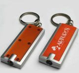 Heißes Sell LED Key Chain mit Logo Printed
