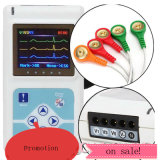 Drie Channel 24 Hours ECG Holter Record Dynamic ECG met Color Display, op Sale met Special Pice!