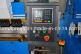 Máquina de dobra do metal de folha do CNC de Wc67y-200t3200mm, máquina de dobra da placa, freio da imprensa