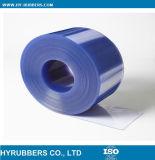 Rideau en plastique en bande de porte de PVC de Tranparent