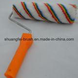spazzola del rullo europeo della banda di colore di 38mm con la maniglia di plastica