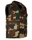 Gilet 100% élevé de collier de chemise bon marché de coton de Sunnytex