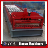 Metallfarben-gewölbte Dach-Blatt-Aluminiumrolle, die Maschine bildet