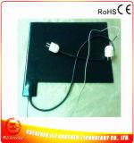het Verwarmen van de Band van 650*650*1.5mm de Elektrische RubberVerwarmer 220V 1900W van het Silicone van het Stootkussen
