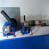 Isolierende automatischer Aluminiumglasstab-verbiegende Maschine