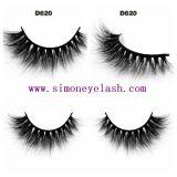 capelli Eyeashes falso cosmetico del visone 3D per trucco di bellezza