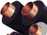 Nitrilo tubo de borracha da isolação térmica da espuma de NBR + de PVC