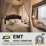 Meubles classiques de luxe en bois de chambre à coucher d'hôtel (EMT-SKB05)