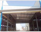 Полуфабрикат пакгауз рамки стальной структуры гальванизированный