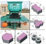 Construction directe de prix bas d'usine pavant le bloc faisant la machine