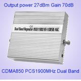 27dBm 850MHz+1900MHz Dual o repetidor St-1085b do sinal Booster/GSM da faixa