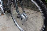 28 polegadas Steap durante todo a bicicleta elétrica com borne do assento da suspensão