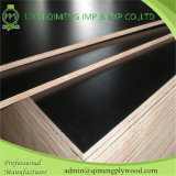Peuplier/Hardwood/Recycled Core 12mm 15mm 18mm Film Faced Plywood avec Black et Brown Color