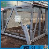 열려있는 롤러 조정 던짐 기계 또는 선반공 또는 유기 비료 퇴비