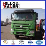 2016년 Sinotruk HOWO 8X4 336HP Euro2 덤프 트럭 A/C
