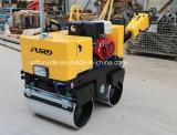 800kg小型二重ドラム販売(FYL-800)のための振動手のアスファルトローラー