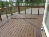 Decking Eco-Friendly de WPC (composto plástico de madeira)