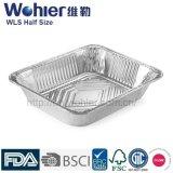 Taza disponible del envase de la hornada de la torta del papel de aluminio de Ovenable