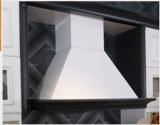 Module de cuisine de mélamine avec la porte de Module de film de PVC (zc-062)