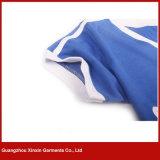 Poliéster 100% camisas barato macias e finas de T (R174)