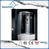 Terminar el sitio de ducha automatizado del vidrio Tempered del masaje (AS-K36)