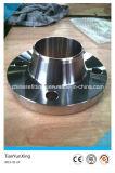 Flange da garganta da soldadura do ANSI B16.5 F321 do aço inoxidável