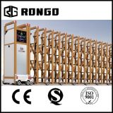 Rongo Security Industrial Auto Retractable Louver Gate