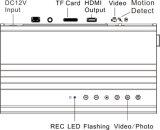 a câmera impermeável a menor da tubulação de 1080P 7-24V HD Digitas com DVR (5MP armazenamento da fotografia 64GB)