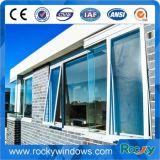 Regen-Beweis-bereiftes Glas Oberseite-Hing Aluminiummarkisen-Fenster