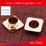 Traitements de cuir pour les oeillets décoratifs de bourses