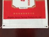 sac 10kg tissé par pp stratifié par film Pearlized pour le riz avec le traitement