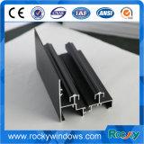 Profil en aluminium enduit de poudre chaude de vente pour Windows et des portes