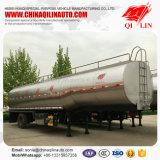 3 de Semi Aanhangwagen van de Tanker van de Melk van assen met Dubbele het Isoleren Lagen
