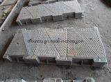 삼각형 유형 맨홀 뚜껑을%s 가진 무쇠 사각 프레임