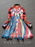 Платье партии одежд женщин способа конструктора Silk