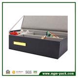 Коробка хранения ювелирных изделий кожи функции Superacids сбор винограда