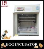 Incubateur complètement automatique de volaille de première vente pour des oeufs de caille
