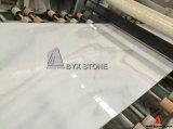 De kleurrijke Witte Marmeren Plak van de Jade voor Muur en Bevloering