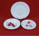 Articoli per la tavola di ceramica, articoli per la tavola impressi di figura rotonda della Cina
