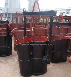 Нижние стальные изготовление/главный начальник уполовника отливки строба скольжения уполовника