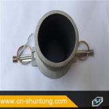Camlock y acoplador de aluminio/de cobre amarillo del surco