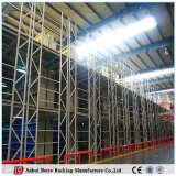Plataforma de aço para a cremalheira do armazém