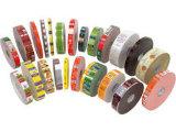 Cinta promocional del embalaje de la impresión con insignia diseñada de la compañía
