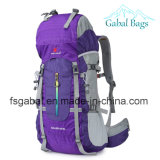 Outdoor Waterproof Nylon Leisure Travel Escalada Camping Sports Saco de caminhada Mochila