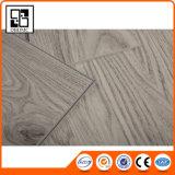 Revêtement de sol antidérapant commercial de vinyle de PVC de cliquetis de Lvt 4mm
