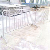 Dipped caldo Galvanized Crowd Control Barricade per Pool