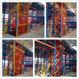 4mの高さの倉庫のエレベーターの上昇