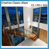 ISO/SGSの証明書が付いている手すりによって和らげられる薄板にされたガラス